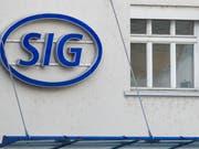 SIG Combiblox will zurück an die Börse. (Bild: KEYSTONE/ENNIO LEANZA)