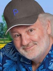 Peach Weber.Steht seit 40 Jahren als Komiker auf der Bühne. Seine Abschiedsvorstellung ist auf den 15. Oktober 2027 im Hallenstadion terminiert.
