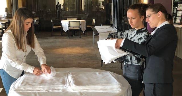 Jugendliche können einen Blick hinter die Lipperswiler Hotel-Kulissen werfen | St.Galler Tagblatt