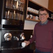 Etwas mehr Zeit für Kaffee: Der Rektor der Kantonsschule Sargans, Stephan Wurster, hat seinen Rücktritt per Sommer 2020 bestätigt. (Bild Reto Vincenz)