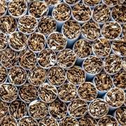 Der Tabak-Konzern JTI produziert in Dagmersellen täglich 43 Millionen Zigaretten. (Bild: Pius Amrein; 17. Juli 2018)