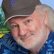 Peach Weber wohnt in Hägglingen und ist seit 40 Jahren Komiker. Seine Abschiedsvorstellung ist auf den 15. Oktober 2027 terminiert – im Hallenstadion.