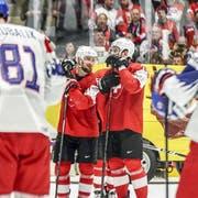 Die Schweiz verliert das letzte WM-Gruppenspiel gegen Tschechien mit 4:5. (Bild: Freshfocus)