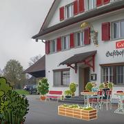 Im Gasthof Schwert in Ettiswil soll 15 bis 20 betreute Arbeitsplätze entstehen. (Screenshot Infovideo)