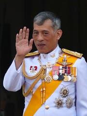 König Maha Vajiralongkorn alias Rama X. (Bild: Rungroj Yongrit/EPA/Keystone, Bangkok, 6. Mai 2019)