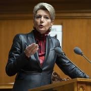 Justizministerin Karin Keller-Sutter. (Bild: KEYSTONE/Anthony Anex)