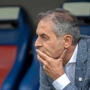Steht vor grossen Herausforderungen beim FC Basel: St.Gallens ehemaliger Meistertrainer Marcel Koller. (Bild: Keystone)