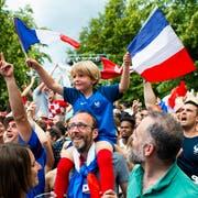 Jubeln die Fans von Weltmeister Frankreich auch an der EM 2024? (Bild: Keystone)