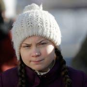 Sie sorgte am WEF in Davos für viel Aufsehen: Die junge schwedische Klimaaktivistin Greta Thunberg. (Bild: Keystone)
