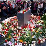 Eine Trauerfeier in Halle. (Bild: Keystone)