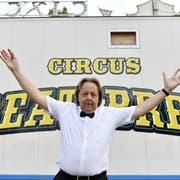 Die Freude von Beat Breu über seinen eigenen Zirkus war von kurzer Dauer – der St.Galler hat alle Vorstellungen abgesagt. (Bild: Keystone)