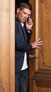 Jan Ullrich am Rande der Gerichtsverhandlung im September 2017 in Weinfelden. (Bild: Ennio Leanza/Keystone)