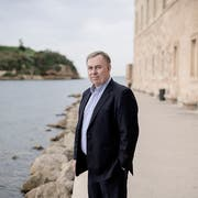 Robert Tibbo, the lawyer of Edward Snowden, in Marseille. «My career is over in Hong Kong», Tibbo says. (Photo: Benjamin Bechet, 23. November 2018)