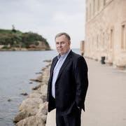 Robert Tibbo im alten Hafen von Marseille. (Bild: Benjamin Bechet, 23. November 2018)