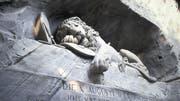 Das Löwendenkmal in Luzern zieht jährlich 1,4 Millionen Besucher an. (swiss-image.ch/Emanuel Ammon)