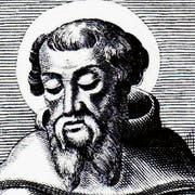 Der hl. Irenäus von Lyon (135–202). Stich. (Bild: PD)
