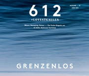 The cover of the new magazine «612». (Image: Screenshot / St.Gallen-Bodensee Tourismus)