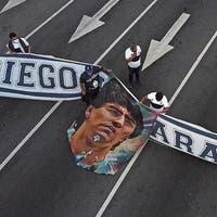 Chaos vor dem ewigen Frieden: Wie Argentinien Maradona verabschiedet