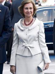 Sofia, alt Königin von Spanien. (Bild: Carlos Alvarez/Getty)