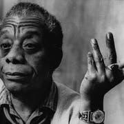 Der amerikanische Autor James Baldwin. (Bild: Keystone)