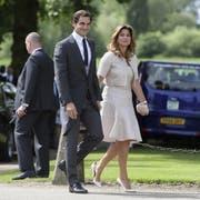 Bald werden Roger Federer und seine Frau Mirka an der Promenade des Zürichsees entlang flanieren. (Bild: Keystone)