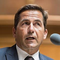 Bundeskanzler Walter Thurnherr (AG).