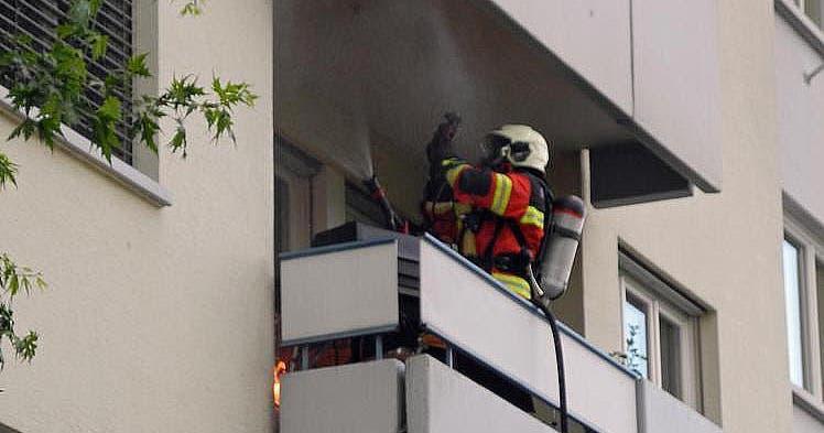 immensee gasgrill auf balkon in brand geraten luzerner zeitung. Black Bedroom Furniture Sets. Home Design Ideas