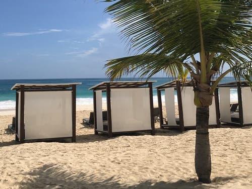 Beliebt bei Badegästen und Sonnenhungrigen: Der Ferienort Punta Cana in der Dominikanischen Republik. (Bild: Annina Steininger, Punta Cana, September 2019)