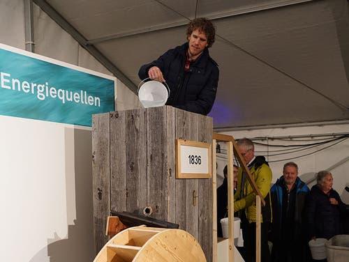Marcel Wagner, W&P Ingenieure. (Bild pd/Kuno Scheuber, Alpnach, 14. Januar 2019)