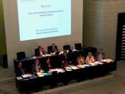 Die Synode der reformierten Kirche des Kantons Luzern tagt jeweils im Kantonsratssaal des Regierungsgebäudes in Luzern. (Bild: Fritz Bösiger, Luzern, 14. März 2019)
