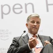 Top-Manager Rolf Dörig wird der SVP-Initiative zustimmen.