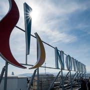 Novartis will sich von der Augenheilsparte Alcon trennen und an die Börse bringen. (Bild: KEYSTONE/GEORGIOS KEFALAS)