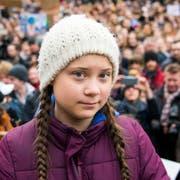 Greta Thunberg ist für den Friedensnobelpreis vorgeschlagen worden. (Bild: Keystone/DPA/DANIEL BOCKWOLDT)