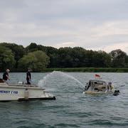 Remo Pfändler ist Obermann und Kassier der Seerettung Rorschach. (Bild: PD)