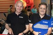 Ende März dieses Jahres eröffneten der damalige CEO Pascal Lütolf (links) und Mitinhaber Peter Hostettler die frisch umgebaute Hostettler-Filiale am Hauptsitz in Sursee. (Bild: PD)