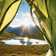 Camping – die altbewährte Ferienform ist wieder hoch im Kurs.Bild: Getty