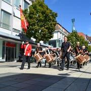 Der Umzug durch die Stadt kam bei den meisten Wilern gut an. (Bild: PD)