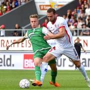 FCSG-Spieler Jasper Van Der Werff wird künftig für Red Bull Salzburg auflaufen. (Frederic Dubuis/freshfocus (freshfocus))