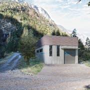 So könnte die Zentrale des Kraftwerks Palanggenbach in Seedorf aussehen. (Bild: PD)