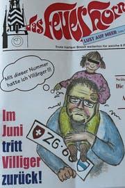 Das Titelblatt des Feuerhorns 2019. (Bild: PD)