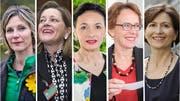 Wie sieht der Frauenanteil im Ständerat nach den Wahlen 2019 aus? Diese Frauen bewerben sich. (Bild: KEY/Sandra Ardizzone/Sebastian Schanzer/Kenneth Nars)