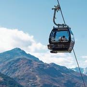 Die Gondelbahnen der Skiarena Andermatt-Sedrun können im Winter zu vergünstigten Preisen unbegrenzt benützt werden. (Bild: Valentin Luthiger, 8. Oktober 2018)