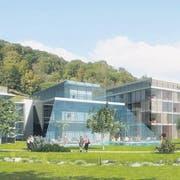 So sollte das geplante Parkhotel Bad Rans in Sevelen aussehen – doch das Projekt erwies sich als Luftschloss. (Bild: pd)