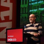 Unia-Regionalpräsident Ueli Balmer wurde nach einem Machtkampf abgesetzt: