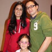 Familie Unda aus Kolumbien.
