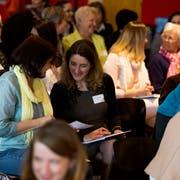Die «womanost» bietet Frauen die Möglichkeit, sich auszutauschen und zu vernetzen. (Bild: PD)