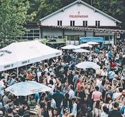 Grosser Andrang: Vergangenes Jahr kamen über 5000 Hungrige ans Street Food Festival in Alpnach. (Bild: PD, 11. August 2018)