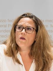 """Andrea Huber, """"Allianz der Zivilgesellschaft"""", Luzern (Bild: Keystone)"""