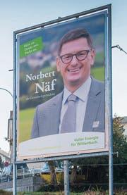 Norbert Näf legt Wert darauf, welches Bild man sich von ihm macht. (Bild: Urs Bucher 26. Oktober 2018)