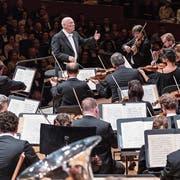 Das Royal Concertgebouw Orchestra Amsterdam unter der Leitung von Bernard Haitink (89). (Bild: Patrick Hürlimann/Lucerne Festival (Luzern, 6. September 2018))